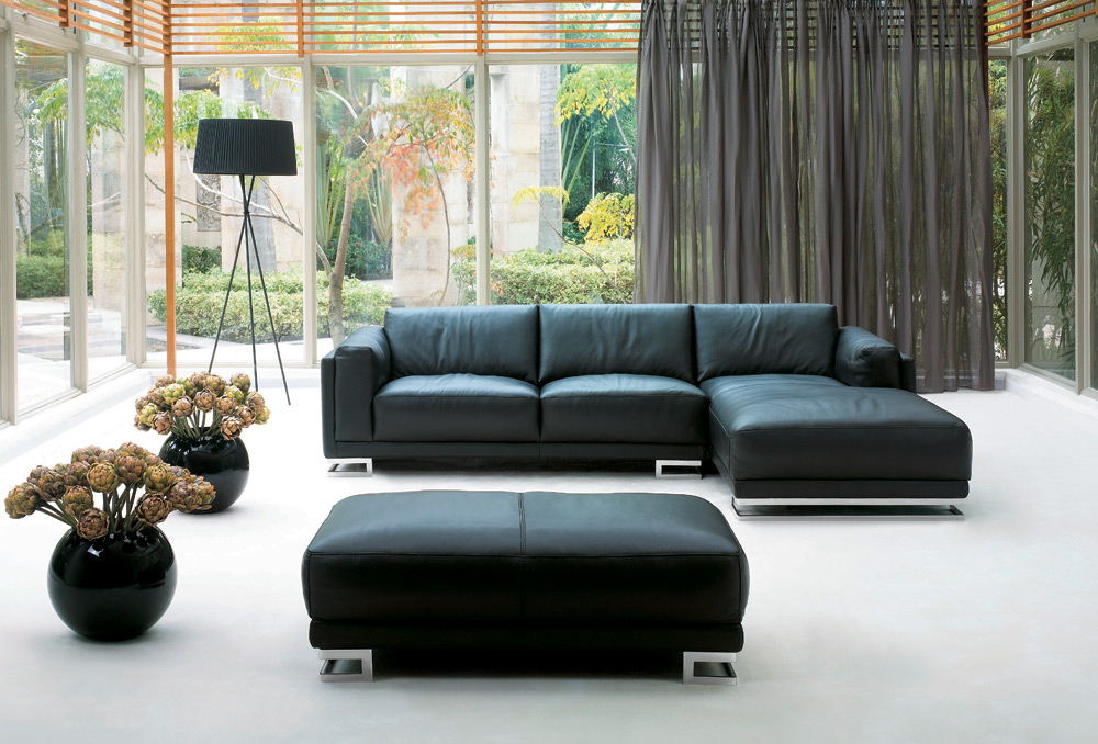 Sofas - Pradi-2 Leather Lounge Suite - Sofa Sofa