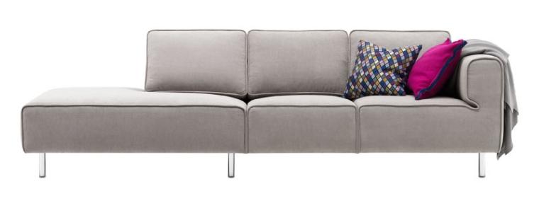sofas arco fabric chaise lounge sofa sofa. Black Bedroom Furniture Sets. Home Design Ideas