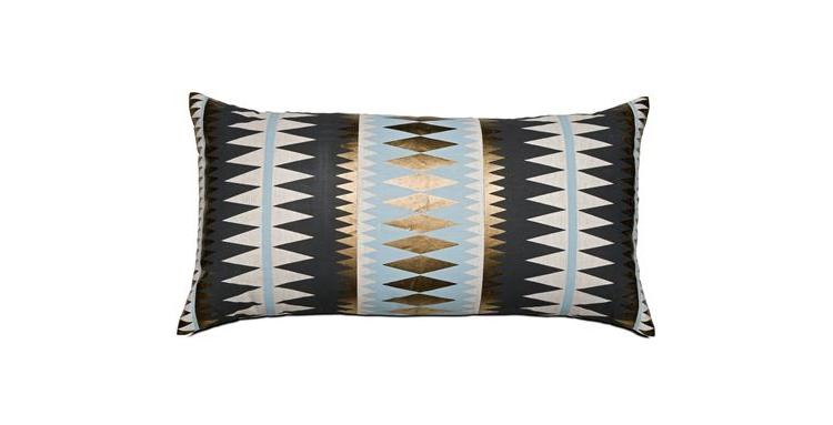 bronze-grey-white-blue-zig-zag-cushion