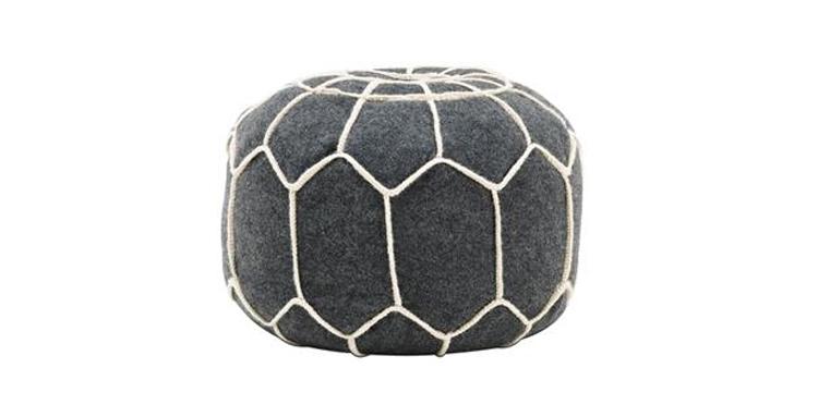 grey-felt-floor-pillows-sofa