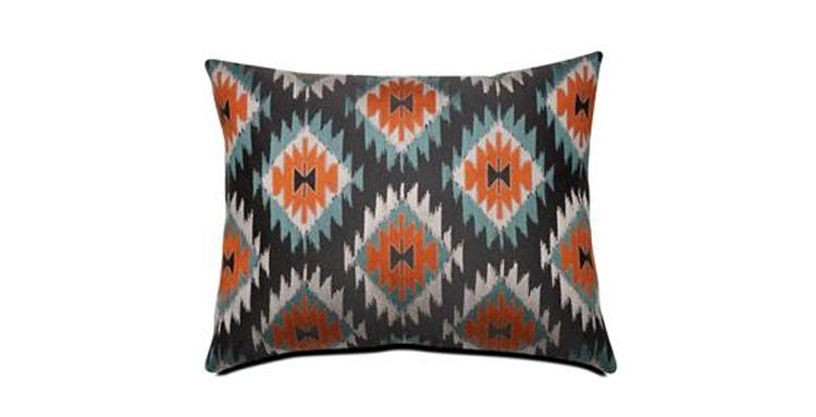 retro-blue-rust-red-zig-zag-cushion-sofa
