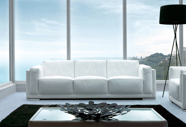 Stupendous Sofas Pradi I White Leather Sofa Sofa Sofa Machost Co Dining Chair Design Ideas Machostcouk