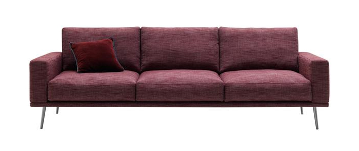 carlton-bordeaux-rialto-fabric-three-seater-sofa
