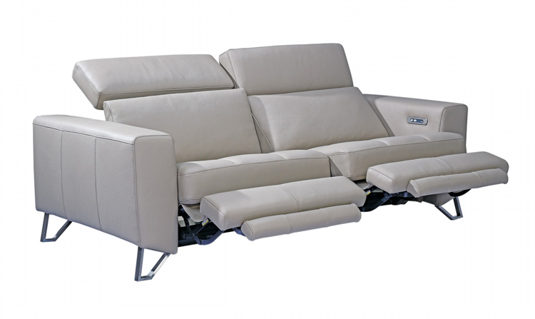Aperto Modern Leather Electric Recliner Sofa Sofa Sofa