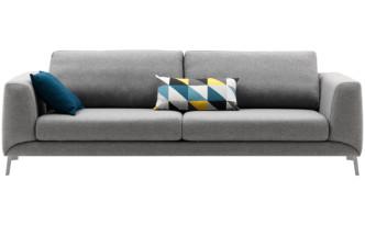 Grey modern sofa Sydney - Fargo