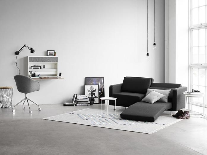 Melo-2 dark grey sofa bed Sydney