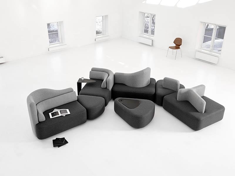 Ottawa designer sofa black