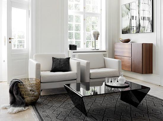 Osaka modern armchair