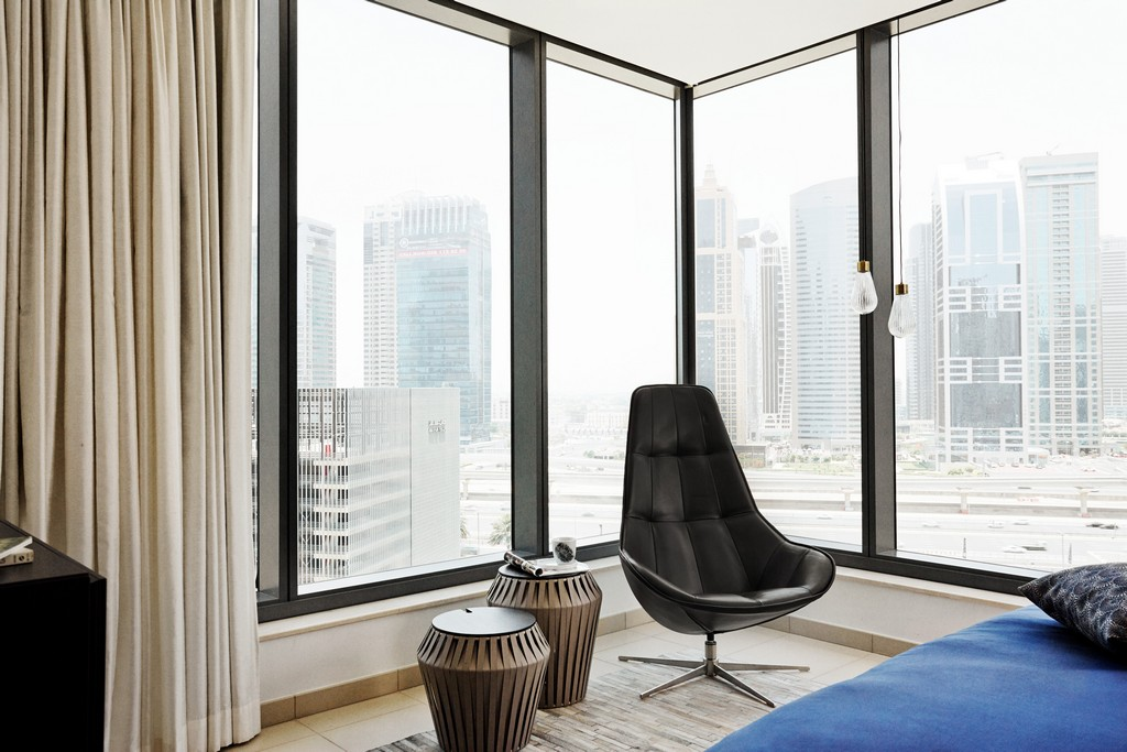 Boston - modern black lounge chair Sydney