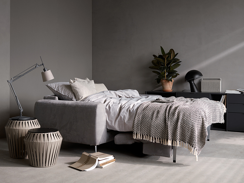 Madison - modern grey sofa bed Sydney