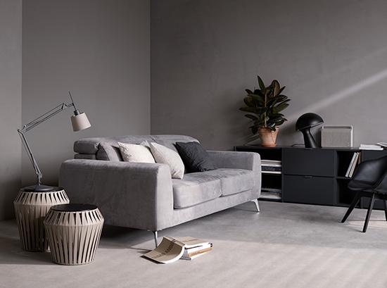 Madison - grey Danish designer sofa bed Sydney
